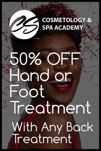 50percent off Hand with Back